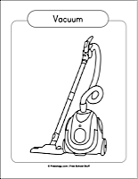 V-Z Coloring Pages - Freeology Vacuum Coloring Pages